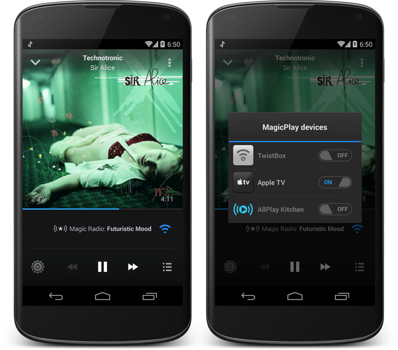 AirPlay Magic Radio